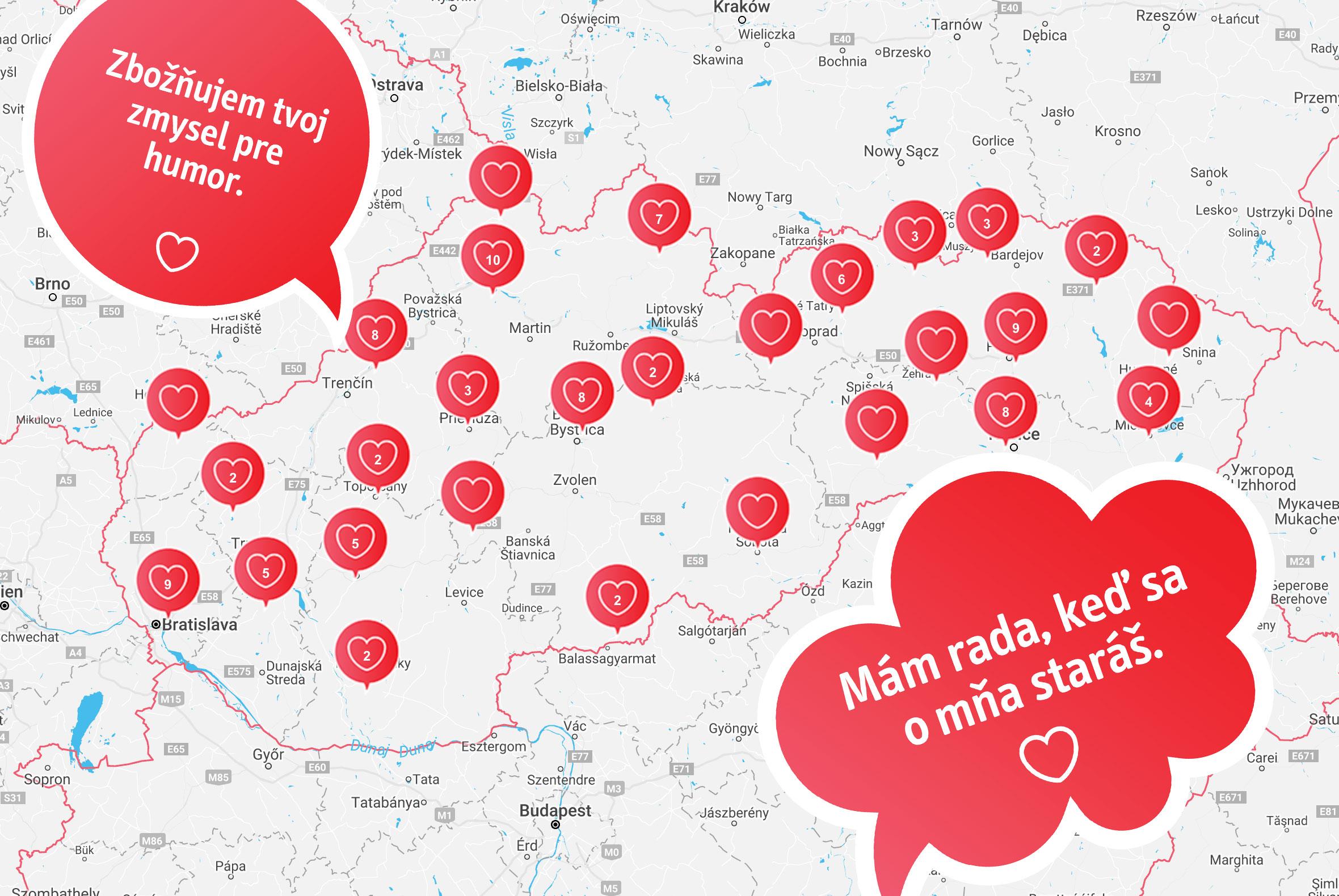 1e0b93f8f6 Vybrali sme 20 najmilších vyznaní z celého Slovenska. Možno medzi ...